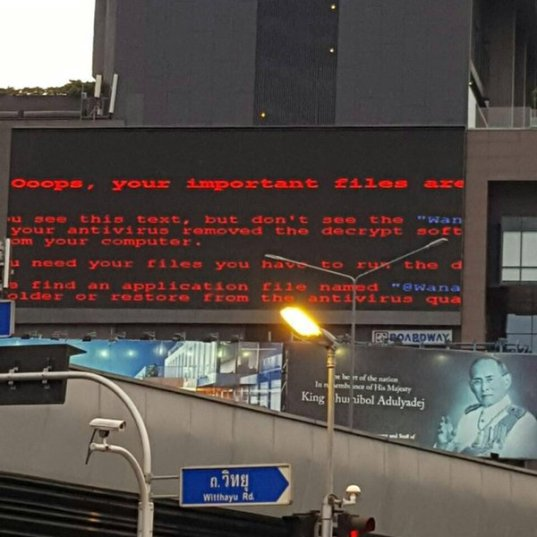 Wannacry-Billboard-Ransomware